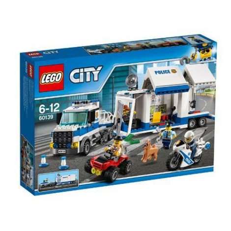 Imagine 1LEGO City Centru de Comanda Mobil
