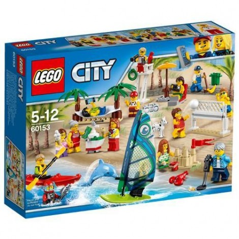 Imagine 1LEGO City Comunitatea Orasului de Distractie la Plaja