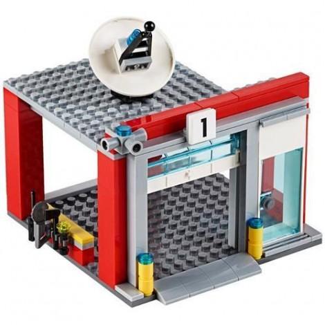 Imagine 3LEGO City Remiza de Pompieri