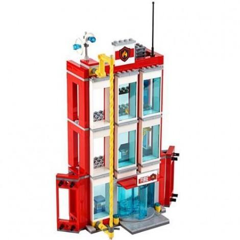 Imagine 4LEGO City Remiza de Pompieri