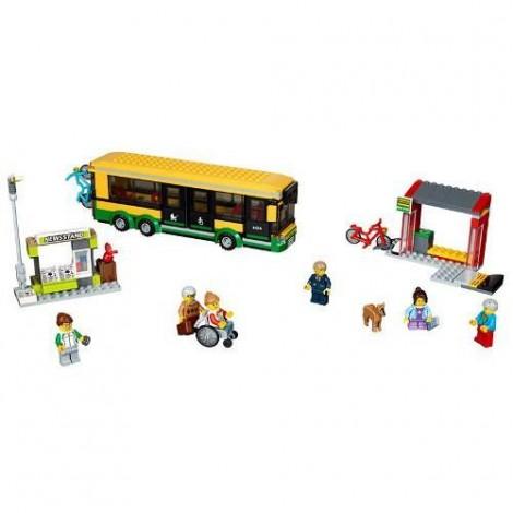 Imagine 2LEGO City Statie de Autobuz