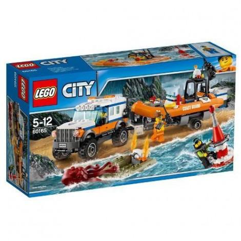 Imagine 1LEGO City Unitatea de Interventie 4x4