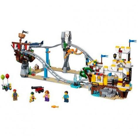 Imagine 2LEGO Creator Roller Coaster-ul Piratilor
