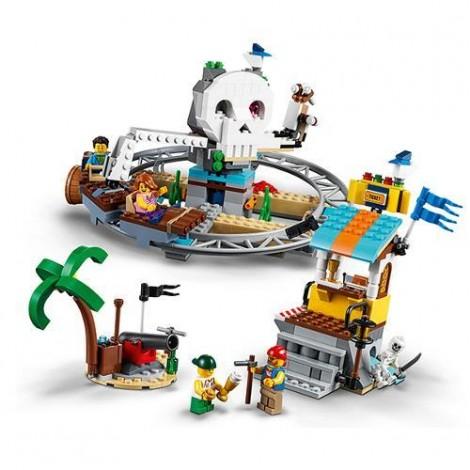 Imagine 4LEGO Creator Roller Coaster-ul Piratilor