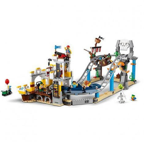 Imagine 5LEGO Creator Roller Coaster-ul Piratilor