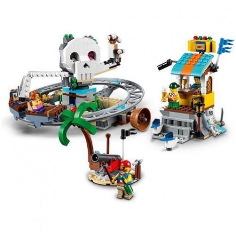 Imagine 6LEGO Creator Roller Coaster-ul Piratilor