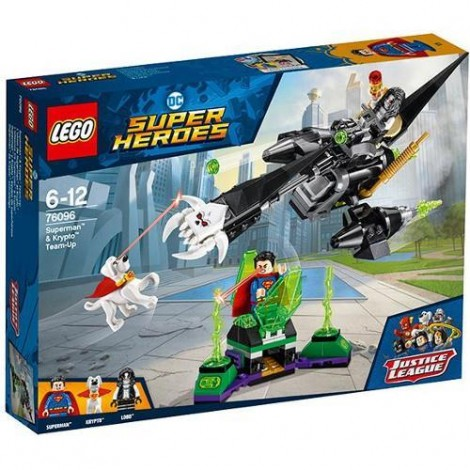 Imagine 1LEGO Super Heroes Alianta Superman si Krypto