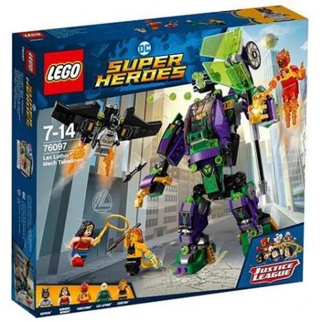 Imagine 1LEGO Super Heroes Distrugerea Robotului Lex Luthor