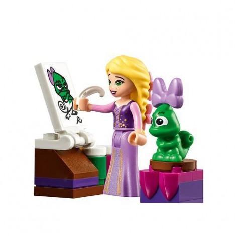Imagine 5LEGO Disney Dormitorul din Castel al lui Rapunzel
