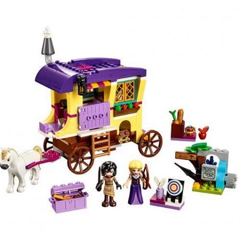 Imagine 2LEGO Disney Caravana de Calatorii a lui Rapunzel