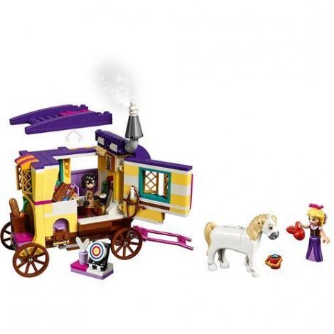 Imagine 4LEGO Disney Caravana de Calatorii a lui Rapunzel