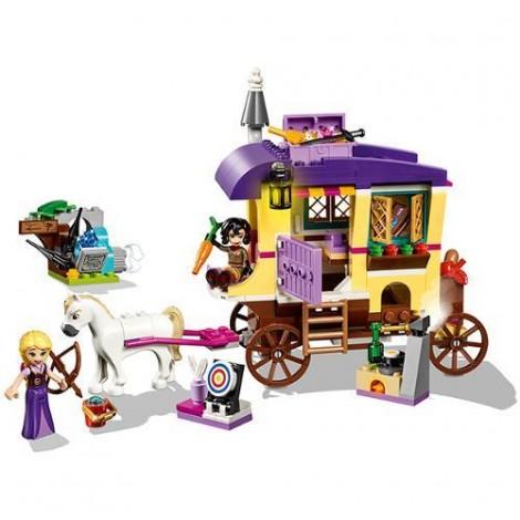 Imagine 5LEGO Disney Caravana de Calatorii a lui Rapunzel