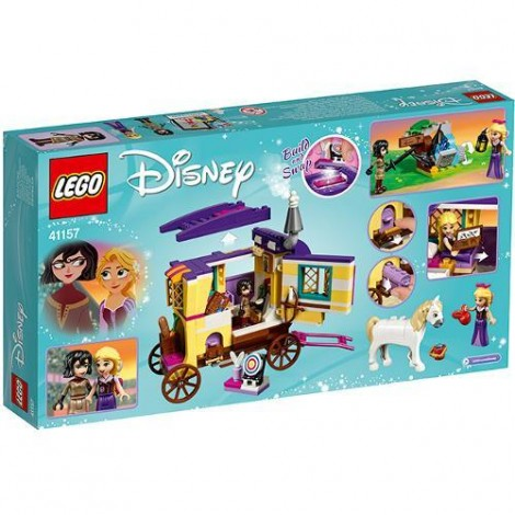 Imagine 6LEGO Disney Caravana de Calatorii a lui Rapunzel