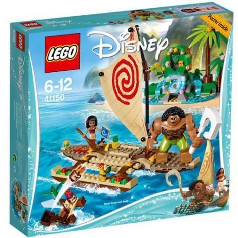 Imagine 1LEGO Disney Vaiana si Calatoria Ei pe Ocean