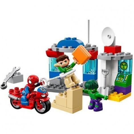 Imagine 2LEGO DUPLO Aventurile lui Spider-Man si Hulk