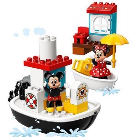 Imagine 6LEGO DUPLO Barca lui Mickey