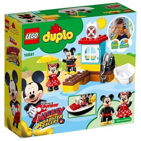 Imagine 7LEGO DUPLO Barca lui Mickey