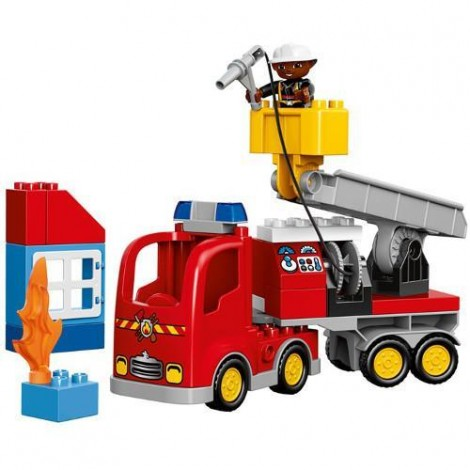 Imagine 4LEGO DUPLO Camion de Pompieri