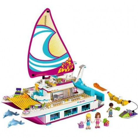 Imagine 2LEGO Friends Croaziera Insorita pe Catamaran