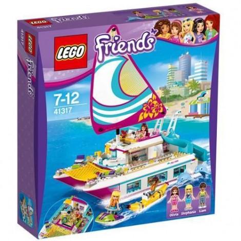 Imagine 1LEGO Friends Croaziera Insorita pe Catamaran