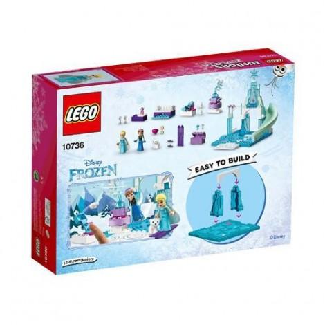 Imagine 3LEGO Juniors Anna si Elsa la Locul de Joaca