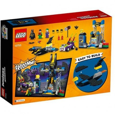 Imagine 3LEGO Juniors Atacul lui Joker in Batcave