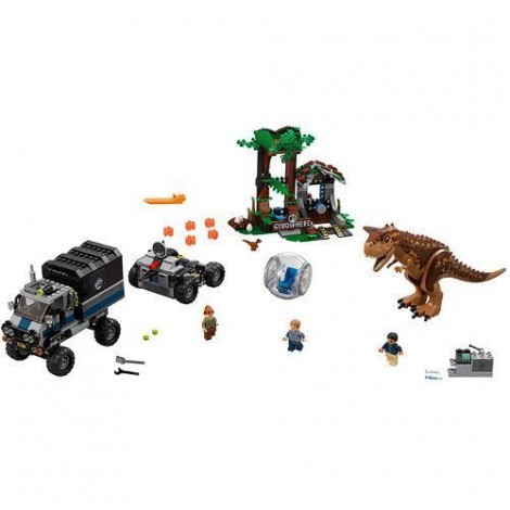 Imagine 2LEGO Jurassic World Carnotaurus