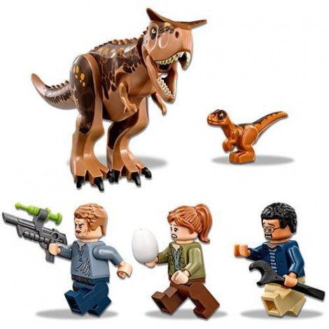 Imagine 3LEGO Jurassic World Carnotaurus