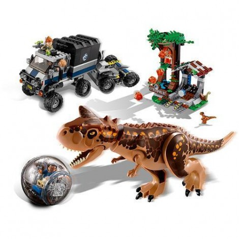 Imagine 4LEGO Jurassic World Carnotaurus