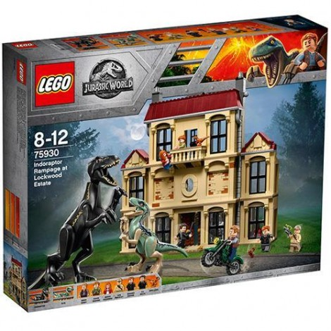 Imagine 1LEGO Jurassic World Furia Indoraptorului pe Mosia Lockwood