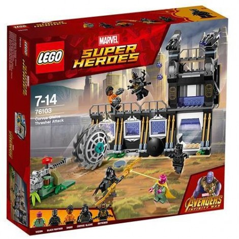 Imagine 1LEGO Marvel Super Heroes Atacul cu Lame al lui Corvus Glaive
