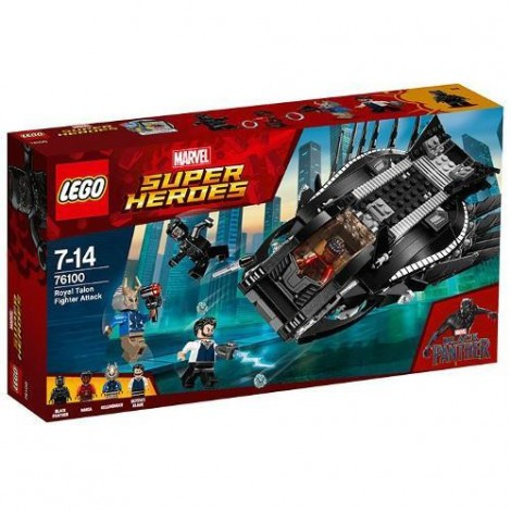 Imagine 1LEGO Marvel Super Heroes Atacul Luptatorului Regal
