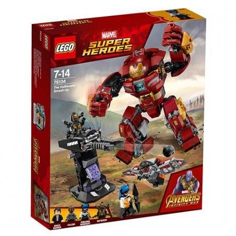 Imagine 1LEGO Marvel Super Heroes Distrugerea Hulkbuster