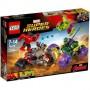 Imagine 1LEGO Marvel Super Heroes Hulk contra Hulk cel Rosu