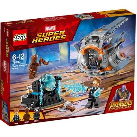 Imagine 1LEGO Marvel Super Heroes In Cautarea Armei lui Thor