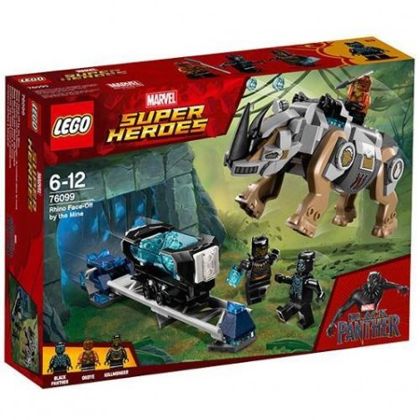 Imagine 1LEGO Marvel Super Heroes Rhino Face-Off