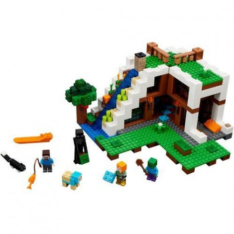 Imagine 2LEGO Minecraft Baza de la Cascada