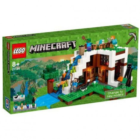 Imagine 1LEGO Minecraft Baza de la Cascada