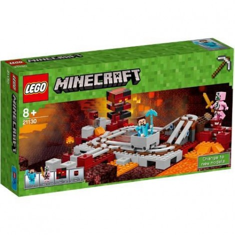Imagine 1LEGO Minecraft Calea Ferata Nether