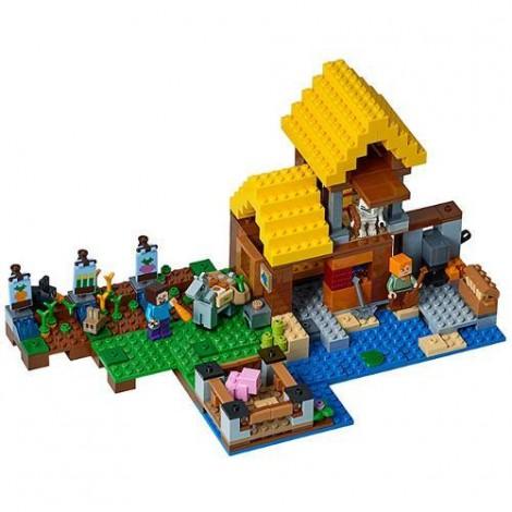 Imagine 2LEGO Minecraft Casuta de la Ferma