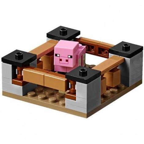 Imagine 3LEGO Minecraft Casuta de la Ferma