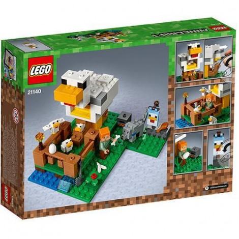 Imagine 3LEGO Minecraft Cotetul de Gaini