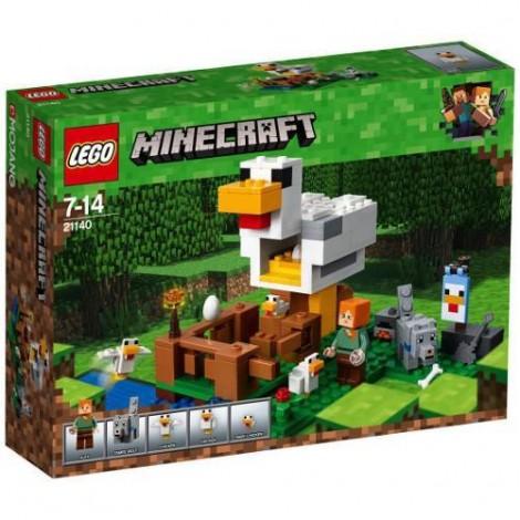 Imagine 1LEGO Minecraft Cotetul de Gaini