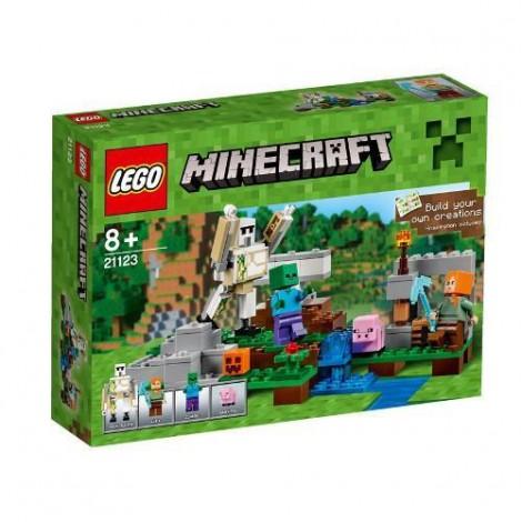 Imagine 1LEGO Minecraft Golemul de Fier