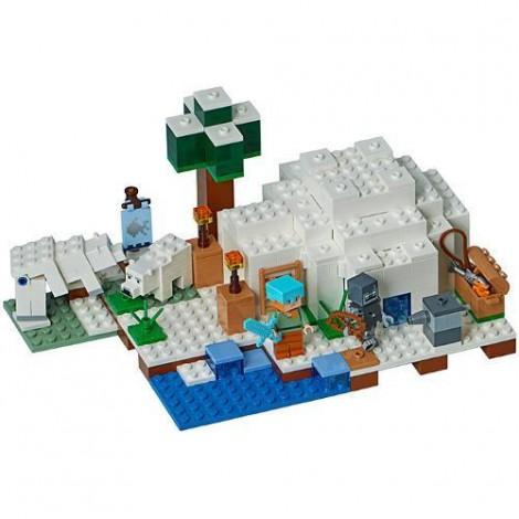 Imagine 2LEGO Minecraft Iglu Polar