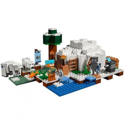 Imagine 3LEGO Minecraft Iglu Polar