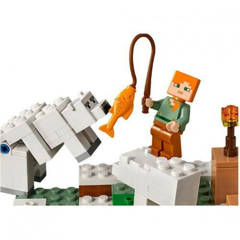 Imagine 4LEGO Minecraft Iglu Polar