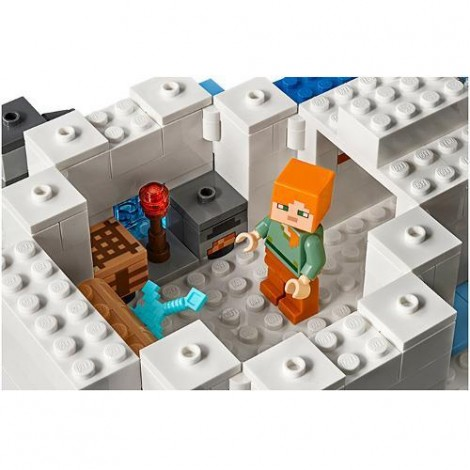 Imagine 5LEGO Minecraft Iglu Polar