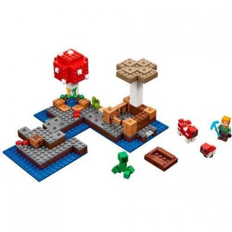 Imagine 2LEGO Minecraft Insula Ciupercilor