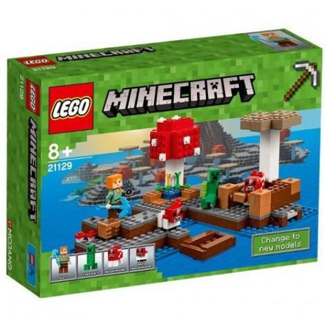 Imagine 1LEGO Minecraft Insula Ciupercilor